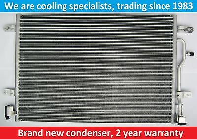 Brand New Condenser (Air Con Radiator) Audi A4 2002 To 2008/a6 2003 To 2005/s4