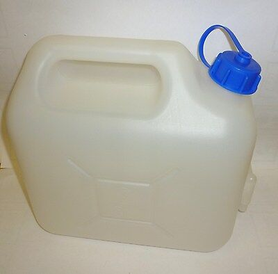 Camping Caravan Tent Water Can Container With Tap 5 Lts