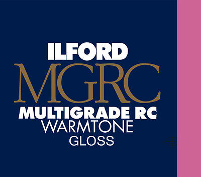 Ilford Warmtone Resin Coated Gloss 9½ x12 50 Sheets