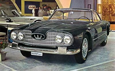 1960 Maserati 5000GT Touring Photo Shah of Iran ua4328-B2T1GS