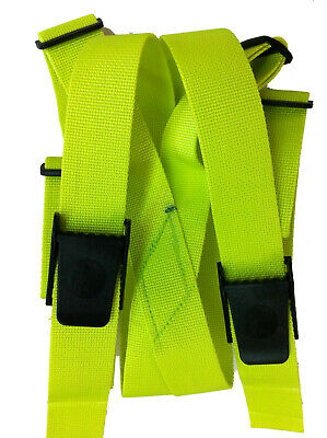 Weight Belt Suspenders Scuba Diving Dive Equipment New WB80 Yellow