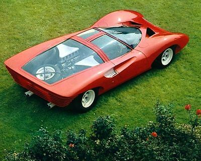 1968 Ferrari P5 Pininfarina Prototype Factory Photo ua5086-QOU5BB