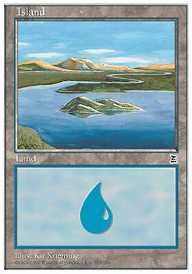 Isola 169 - Island 169 MTG MAGIC P3K Portal Three Kingdoms Eng