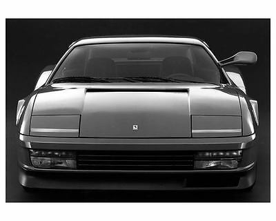 1985 Ferrari Testarossa Factory Photo ua9580-BLOYSI