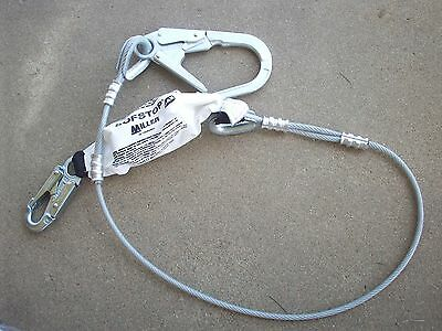 MILLER BY SPERIAN 090149/6FT SOFSTOP Cable Lanyard NIP