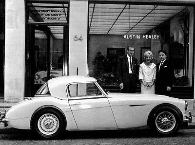 1960 Austin Healey 3000 Mark I Factory Photo ua1880-ZL5Z2X
