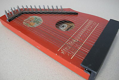 Harp Lute Small String Musical instrument Musima Made Germany 1978