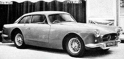 1958 Peerless Triumph TR3 Factory Photo ua4179-SSRDLB