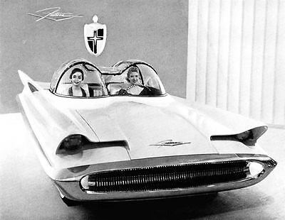 1955 Lincoln Futura Experimental Photo Batmobile ua4431-8ROZA4