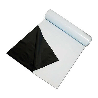 Panda Film Black and White Poly  10' X 50' Ft Light Grow Tent Reflective- M004
