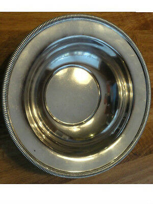 """9 3/4"""" Sterling Silver (.925) Bowl 7.6 ouces by Ellmore 660"""