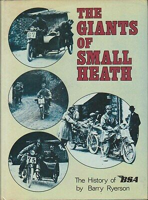 Giants of Small Heath The History of BSA by Ryerson Factory Motorcycles People +