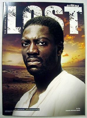 LOST Official Magazine # 9 VARIANT Mr Eko COVER 2007 ~ NM UNREAD