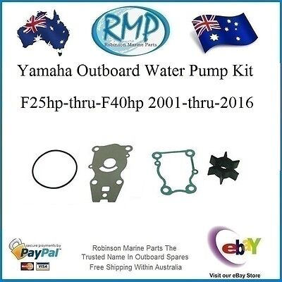 A New RMP Water Pump Kit Yamaha F25hp-thru-F40hp  2001-2015  # R 66T-W0078-00