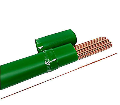 """ER70S-2 1/8"""" X 36"""" Tig Welding Wire rod 10lbs - Free Shipping!"""