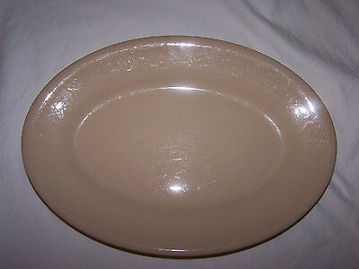 Buffalo China Cafe 13 inch Platter in Beige