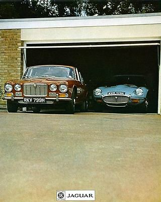 1972 Jaguar XJ6 & XKE V12 Factory Photo ua5254-WEJZA2