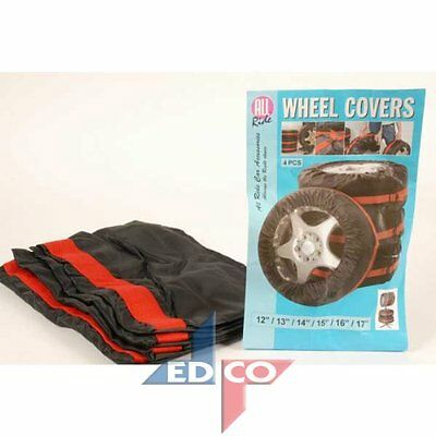 4 x All Ride Wheel and Tyre Covers Car Van Truck Carry Storage