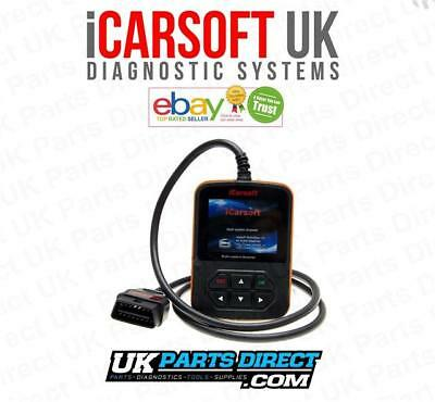 iCarsoft i810 Engine Diagnostic Scan Tool & Reset Fault Code Reader + LIVE DATA