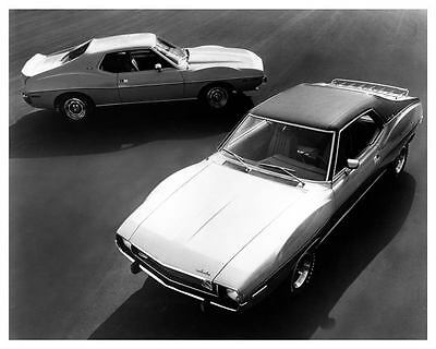 1973 AMC Javelin & AMX Factory Photo ub0551-A7BNGB