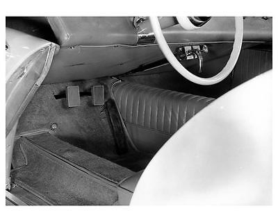 1953 Kaiser Darrin Prototype Interior Factory Photo ub1404-D1PHMC