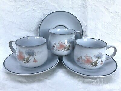 Denby Encore Demi Tasse Coffee Cup & Saucer Excellent Cond Several Available