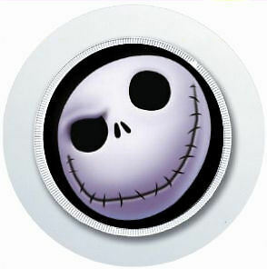 Nightmare Before Christmas Car Tax Disc Holder Reusable