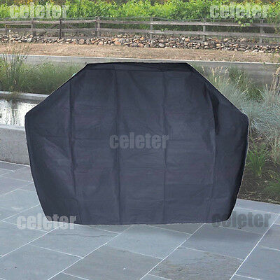 Waterproof BBQ Cover Garden Outdoor 2 4 Burner Barbecue Grill Storage ZQ5AB