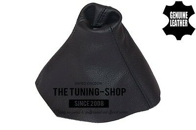 For Vauxhall Opel Zafira B 05-14 Gear Stick Gaiter Cover Black Leather
