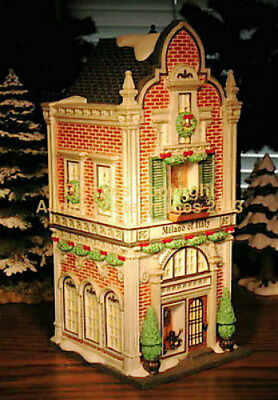 Christmas In The City Dept 56 MILANO OF ITALY! 59238 NeW! MINT! FabULoUs!