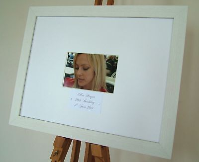 Personalised Birthday Signature Signing Frame Guest Book Gift