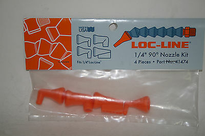 "Loc-Line 1/4"" Hose 90 Deg Assorted Nozzles Kit 41474 NEW!!!"