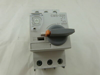 Cerus Manual Motor Starter CMS-32H 22 ~ 32 Amp NEW (Lot of 3) 2-Year Warranty