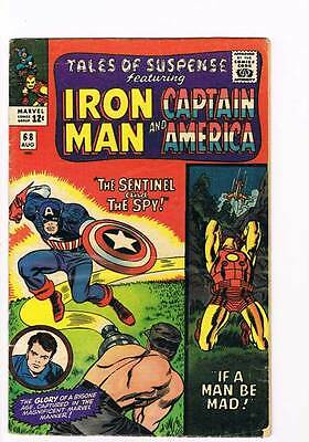 Tales of Suspense # 68 If a Man be Mad grade 5.0 movie super scarce hot book !!