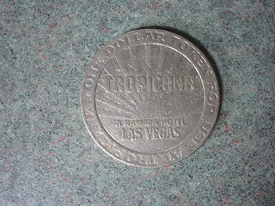 Tropicana A Ramada Hotel Las Vegas One Dollar Token For Use At Tropicana