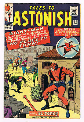 Tales to Astonish # 54  Ant-Man Wasp grade 4.5 - movie super scarce hot book !!