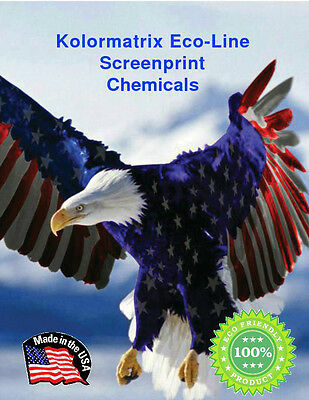 ECO 4440 On Press Wipe Screen Cleaner works with most types on Ink - 1 Quart