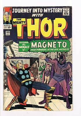 Journey into Mystery # 109 Kirby Thor grade 5.0 - movie super scarce hot book !!
