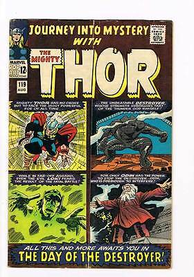 Journey into Mystery # 119 Kirby Thor grade 5.0 - movie super scarce hot book !!