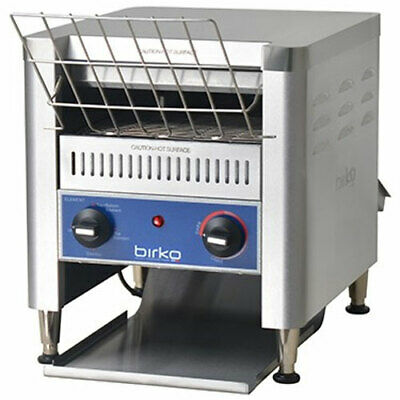Birko 600 Slice Commercial Benchtop Buffet Breakfast Conveyor Toaster 1003202