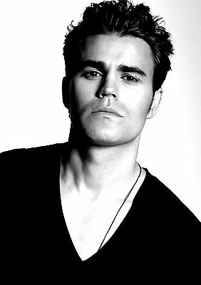 PAUL WESLEY VAMPIRE DIARIES Poster Photo Picture Print A2 A3 A4 (4)