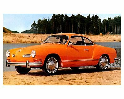 1973 Volkswagen Karmann Ghia Coupe Automobile Photo Poster zc2114-BCGVLN