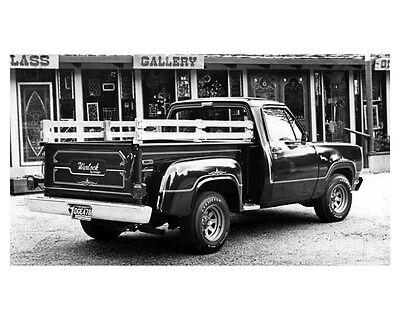1978 Dodge Warlock Truck Factory Photo ub3586-MQV75L