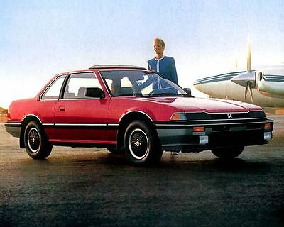 1986 Honda Prelude Automobile Photo Poster zc2744-YUYM9Y