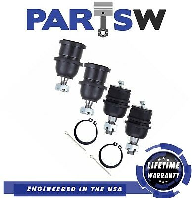 4 Upper And Lower Ball Joints Ford F150 F250 Expedition Lincoln Navigator 97-04