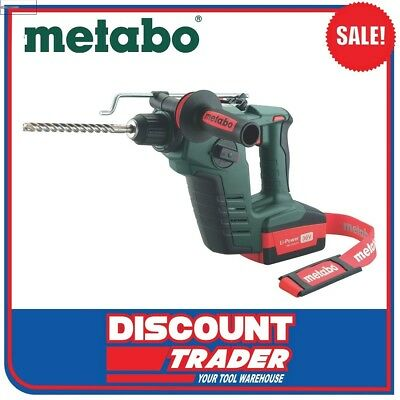 Metabo 36 Volt Lithium-Ion Cordless Rotary Hammer Drill Compact - BHA 36 LTX