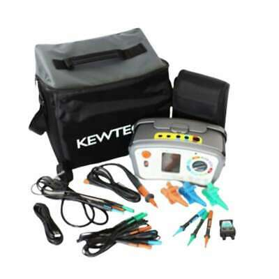 KT65DL Digital 8-in-1 Multifunction tester with ATT (RCD/Loop/Insulation & More)