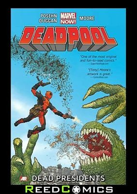 DEADPOOL VOLUME 1 DEAD PRESIDENTS NOW GRAPHIC NOVEL New Paperback Collects #1-6
