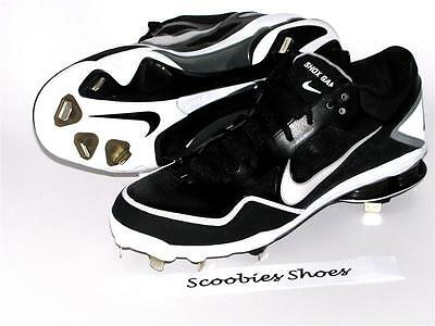 release date 19477 5375b ... purchase new mens nike zoom air shox gamer metal baseball cleats size 9  45530 f55fb