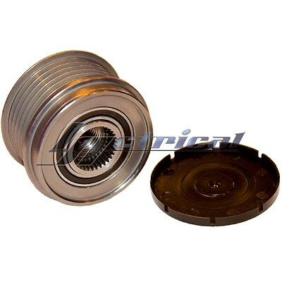 ALTERNATOR CLUTCH PULLEY 6 GROOVE For AUDI A4 1.8L 4cyl Eng 02,03,04,05,06,07,08